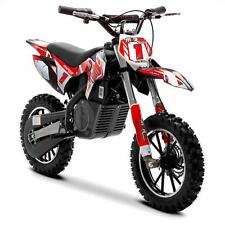 FunBikes MXR 500w Lithium Red Kids Electric Dirt Bike – Mini Motorbike Scrambler