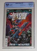 JUSTICE LEAGUE #53 CBCS 9.8 1st Omega Knight SIMILAR TO CGC 9.8