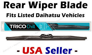 Rear Wiper Blade - WINTER Conventional - fits Listed Daihatsu Vehicles - 37131