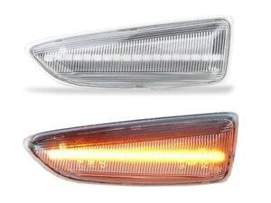 2x LED SEITENBLINKER BLINKER Klarglas klar OPEL ASTRA J K INSIGNIA B J12