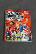 Topps Kick OFF Kollektion Bundesliga Sticker 2014/2015 Leeralbum Sammelalbum