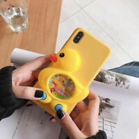 Silicone Case For Samsung S6 S7 Edge S8 S9 S10e S10 S20 FE Note 8 9 10 Game Duck