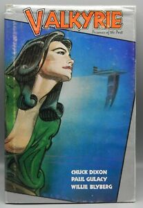 1987 Chuck Dixon VALKYRIE Prisoner of the Past 1st EDITION Book SIGNED Gulacy !!