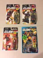GI Joe MOC Lot - Club FSS Inferno BAT, Ice Cream Soldier, Cobra Paratrooper, BAT