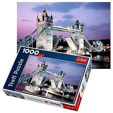 Trefl 1000 Piece Adult Large London Night Tower Bridge Floor Jigsaw Puzzle NEW