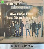 STEPHEN STILLS MANASSAS -DOUBLE VINYL LPS + POSTER A1/B1/C1/D1  EX CON