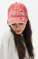 American Needle Drink Coke Coca-Cola Tokyo Hat Red Strap Back Cap Vintage dad