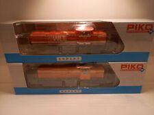 Piko H0 59484 und 59481 G 1206 2x Diesellok Top Zustand