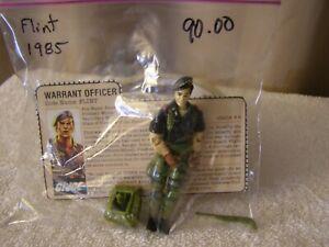 HASBRO 1985 FLINT WARRANT OFFICER