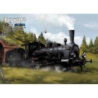 ORIGINAL PAPER-CARD MODEL KIT - LOCOMOTIVE P3.1