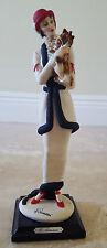 Giuseppe Armani Florence, Lady with Yorkie -1987  Figurine