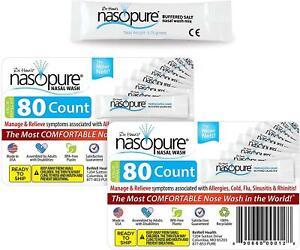 Dr. Hana's Nasopure Nasal Wash - Combo Two Value refill Kits