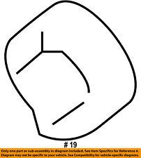 FORD OEM-Hood Rubber Bumper Cushion 5R3Z16758AA