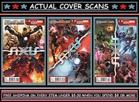 Avengers & X-Men: AXIS: Book One #1 2 & 3 | 3-Issue Lot (2014) Marvel | (VF+/NM)