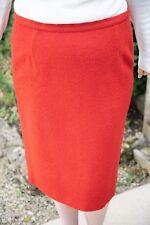 Eastex knee length pencil skirt, Brick Red, UK Size 16