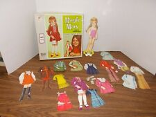Milton Bradley Co Magnetic Magic Mary Paper Doll Set Vintage 1971