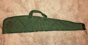 """Vintage Boyt Heavy Canvas Rifle or Shotgun Storage Soft Case 44"""""""
