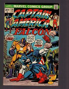 CAPTAIN AMERICA Marvel 1974 Feb #170 Falcon 1st Moonstone