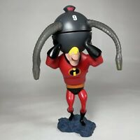 """Disney On Ice The Incredibles 9"""" Spinning Light Up Collectable Toy RARE"""