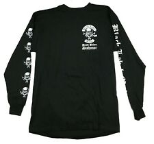 Black Label Society Mafia Long Sleeve Shirt Large NOS Official 2004 Blue Grape