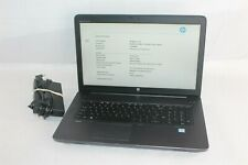 "HP ZBook 17 G4 17.3"" FHD i7-7820HQ 2.9-3.9GHz 32GB 512GB NVMe Quadro M2200 Win10"