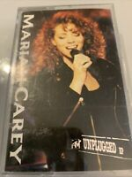 MARIAH CAREY MTV UNPLUGGED EP 7 TRACK CASSETTE RnB/Swing Acoustic inc. live