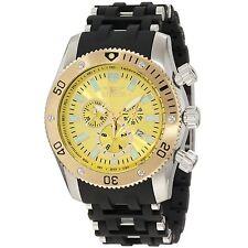 NEW Invicta 10253 Men's Sea Spider Chronograph Yellow Dial Unique Durable Watch