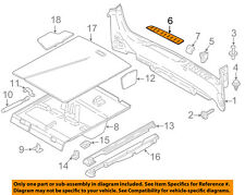 BMW OEM 14-16 328i GT xDrive Interior-Rear-Insert Right 51477298980