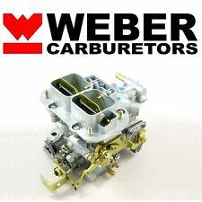 32/36 DGV Progressive Carb Genuine Weber Carburetor w/ Manual Choke