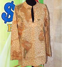 Prima Classe copri costume donna beige casacca mappa  Alviero Martini S M L