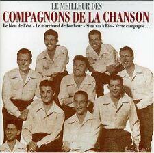 """CD """"LE MEILLEUR DES COMPAGNONS DE LA CHANSON"""" best of 16 titres"""