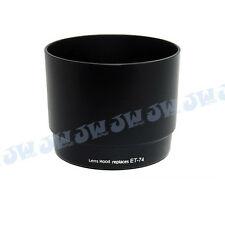JJC Lens Hood LH-74 fits Canon 70-200mm f/4L IS USM ET-74 (Black) prevent glare