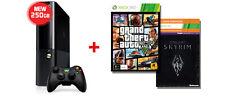 Xbox 360 250GB E Console + Grand Theft Auto V + Skyrim AUS *NEW!* + Warranty