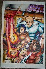 Barnabus Sins Of Honor  #1 Original Cover  Art