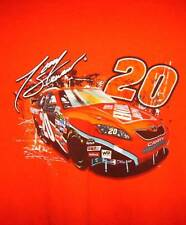 (2) Tony Stewart Home Depot Chevy & Camry Joe Gibbs Racing NASCAR T-Shirt (L)