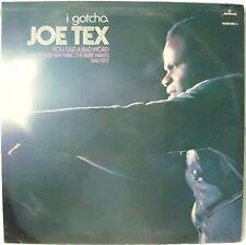 TEX JOE JOE TEX I GOTCHA YOU SAID A BAD WORD BAD FEET LP 1972 ITALY