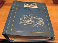 1990's  CUB CADET  PARTS MANUAL  for many Models