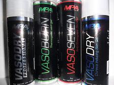 MPA VasoBurn 7.2oz Topical Fat Burner + Vasoseven + VasoDry Pro + VasoDry