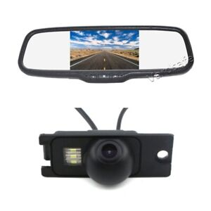 Car Reverse Camera & Rear View Monitor For Volvo S80 S60 S60L XC60 XC90 V70 XC70