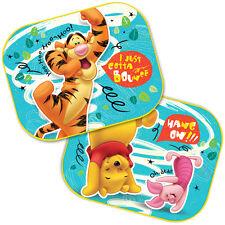2x Disney Winnie the Pooh Kids Baby Children Car Window Blind Mesh Sun Shades