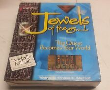 VINTAGE PC / MAC BIG BOX COMPUTER GAME JEWELS OF THE ORACLE NIB