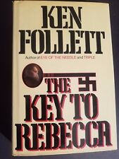 THE KEY TO REBECCA by Ken Follett, 1st ed/1st printing (1980, Hardcover)