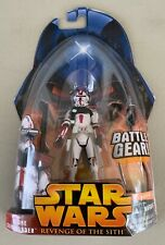 Star Wars Clone Wars Clone Commander Red Armor Star Wars Action Figure