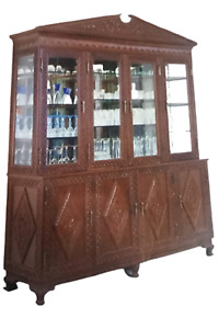 Wooden Hand carved Kitchen Cabinet