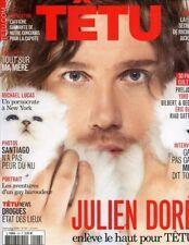 Tetu Magazine #147 9/2009 gay men JULIEN DORE SANTIAGO PERALTA