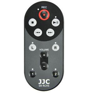 JJC SR-RCH5 Recorder Wired Remote for Zoom H5 Handy Playback Record RCH-5 RCH5