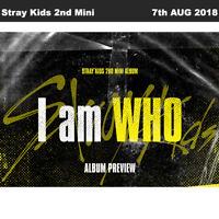 Stray Kids  I am WHO 2nd Mini Album I am Ver CD+Photobook+PhotoCard+Etc KPOP