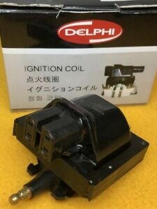 Ignition coil for Holden JE CAMIRA 2.0L 87-89 20JD Delphi 2 Yr Wty