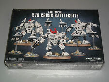 Warhammer 40K TAU EMPIRE XV8 CRISIS BATTLESUITS Box Set!! Brand New!!