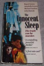 The Innocent Sleep VHS Video Rupert Graves Annabella Sciorra Michael Gambon